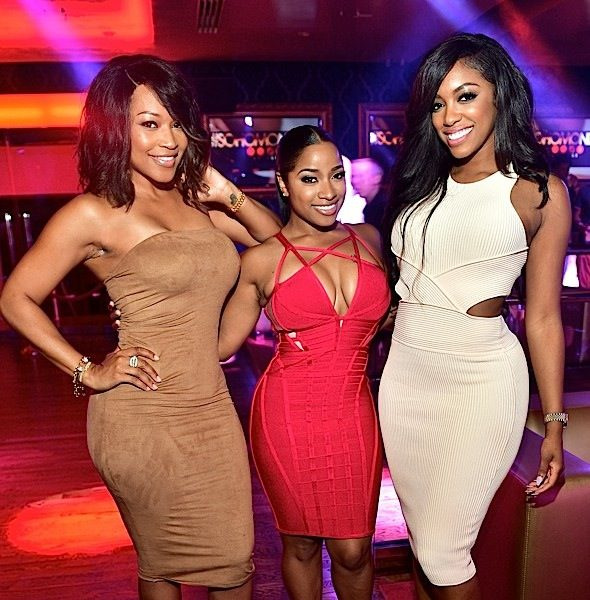 Porsha Williams, Monyetta Shaw, Toya Wright, Keshia Knight-Pulliam, Tammy Rivera Party At Soho Lounge [Photos]