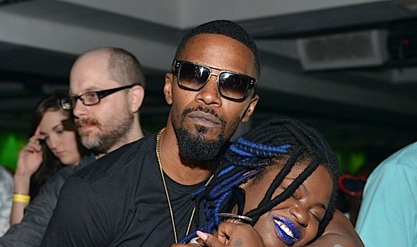 Jamie Foxx Celebrates Sister's B-Day At ATL's Compound: Tank, Migos Spotted [Photos]