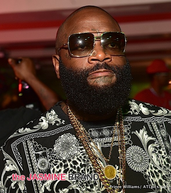 Rick Ross Friends Deny He's On Life Support