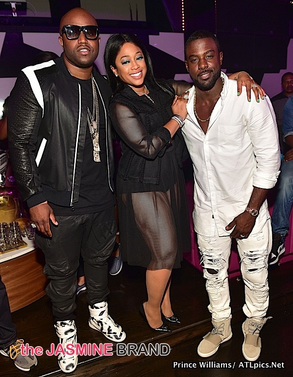 Rico Love, Trina, Lance Gross