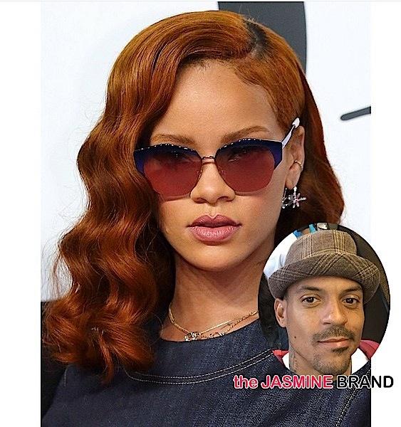 Rihanna-Denies Dating Matt Barnes-the jasmine brand
