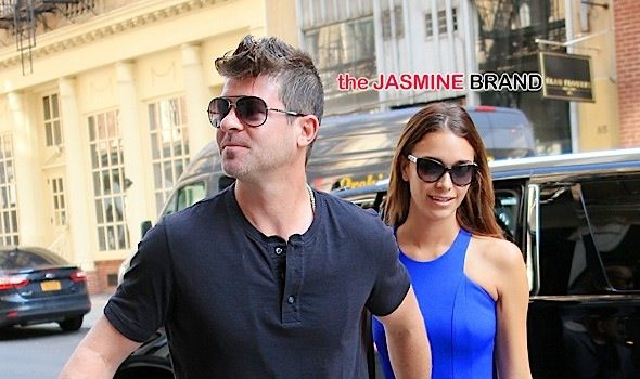 Is Robin Thicke Engaged To 20-Year-Old Girlfriend? See His Response!