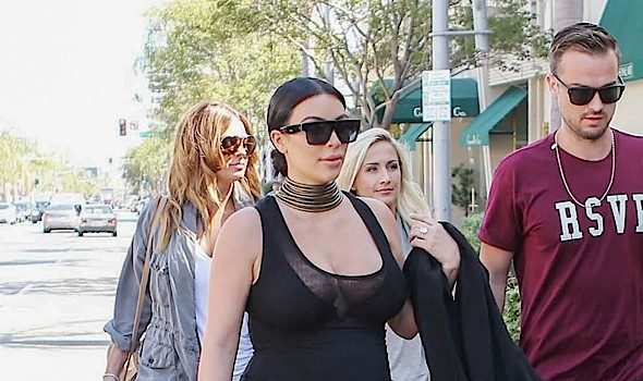 Baby On Board! A Very Pregnant Kim Kardashian Spotted in LA [Photos]