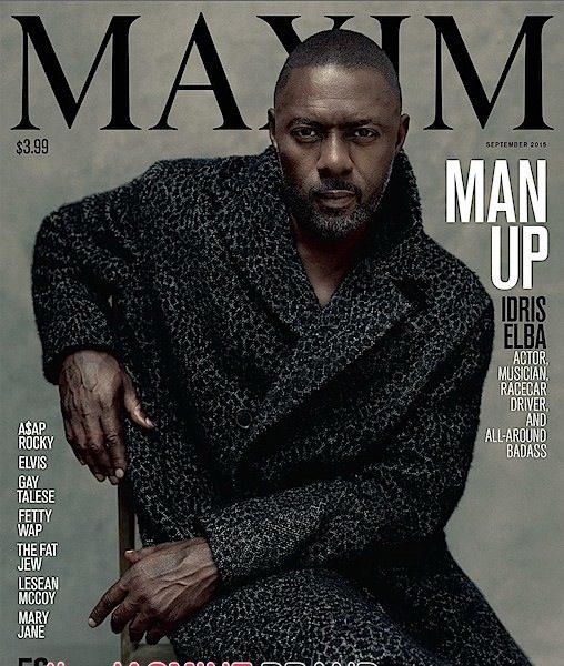 Idris Elba Covers 'Maxim Man Up' [Photos]