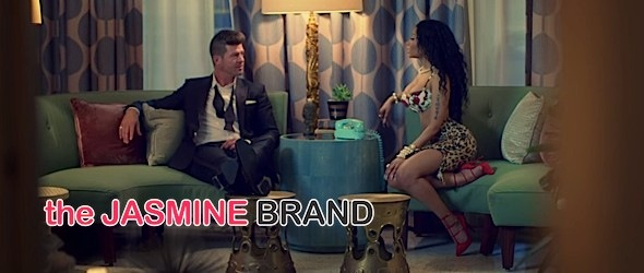 Robin Thicke Releases 'Back Together' Video feat. Nicki Minaj [WATCH]