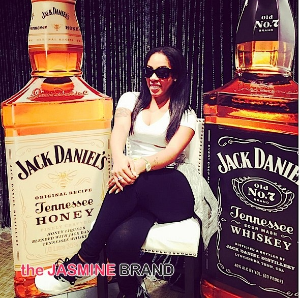 K.Michelle Becomes 1st African American To Be Endorsed By Jack Daniels [Photos]