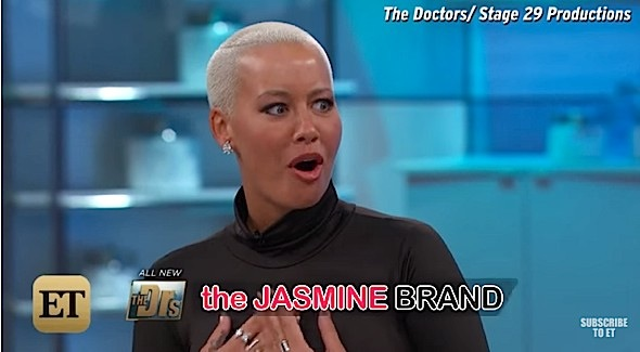 Amber Rose Believes 'Every man cheats'. [VIDEO]