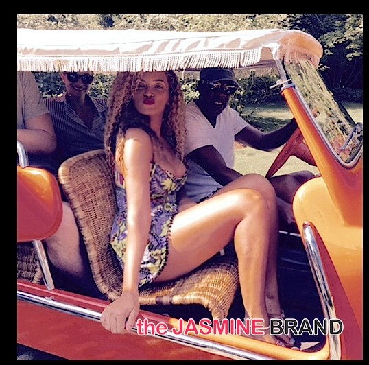 [Travel Chronicles] Beyonce Soaks Up the Sun!