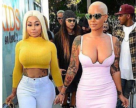 Amber Rose Launches New Eyeglass Line In LA + Blac Chyna Lends Her Support [Photos]