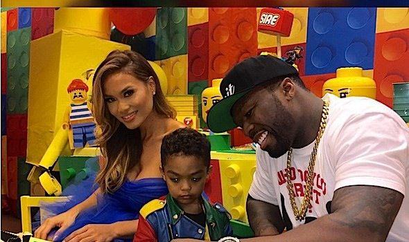 Look! 50 Cent's Son Sire Jackson Celebrates Birthday At Lego Land [Photos]