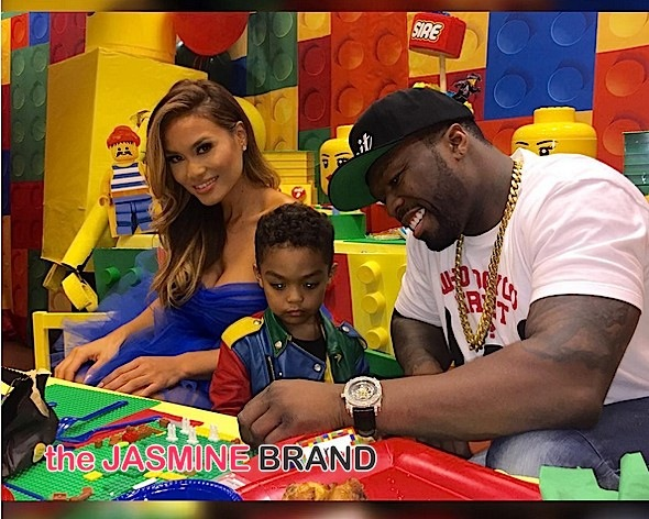 Look! 50 Cent's Son Sire Jackson Celebrates Birthday At Lego Land [Photos]