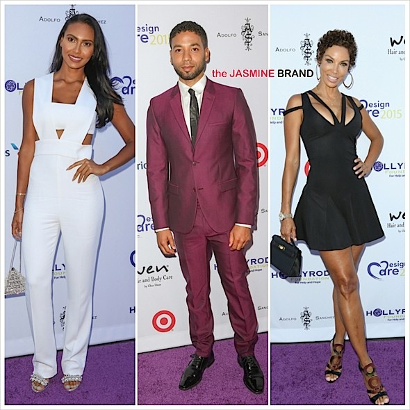 HollyRod Foundation DesignCare Gala Red Carpet: Nicole Murphy, Jussie Smollett, Star Jones, Eva Longoria, Laila Ali & More [Photos]