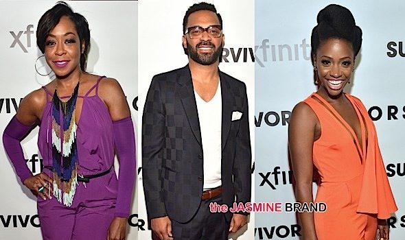 "Mike Epps, Tichina Arnold, Teyonah Parris & More at ""Survivor's Remorse"" Premiere [Photos]"