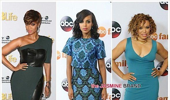 Tyra Banks, Kerry Washington, Viola Davis, Regina King, Lawrence Fishburne & More Hit ABC TCA's [Photos]