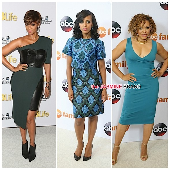 Tyra Banks, Kerry Washington, Viola Davis, Regina King, Lawrence Fishburne & More Hit ABC TCA's [Photos]