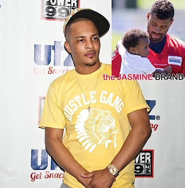 T.I. Chastises Russell Wilson For Playing Step-Dad to Baby Future: It's outta line!
