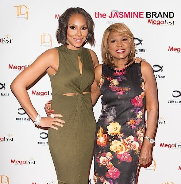 Celebs Turn Up For Jesus: Tamar Braxton, Tasha Smith, DeVon Franklin, Tina Knowles, Tika Sumpter, Ray Lewis & More Attend Mega Fest [Photos]
