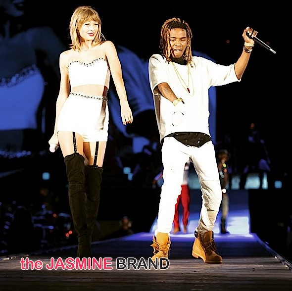 Taylor Swift Brings Out Fetty Wap For 'Trap Queen' [VIDEO]