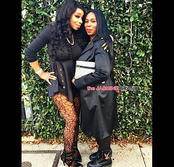 Tiffany Pollard Says People Are Too Hard On Her Mom, Sister Patterson: It's not fair!