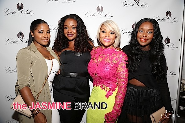 Phaedra Parks, Kim Kimble, Raheem DeVaughn & More Attend Gocha Hawkins' Salon Grand Opening [Photos]