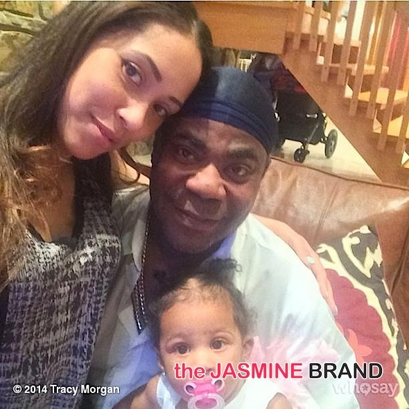 Wedding Bells! Tracy Morgan Marries Fiancée, Megan Wollover