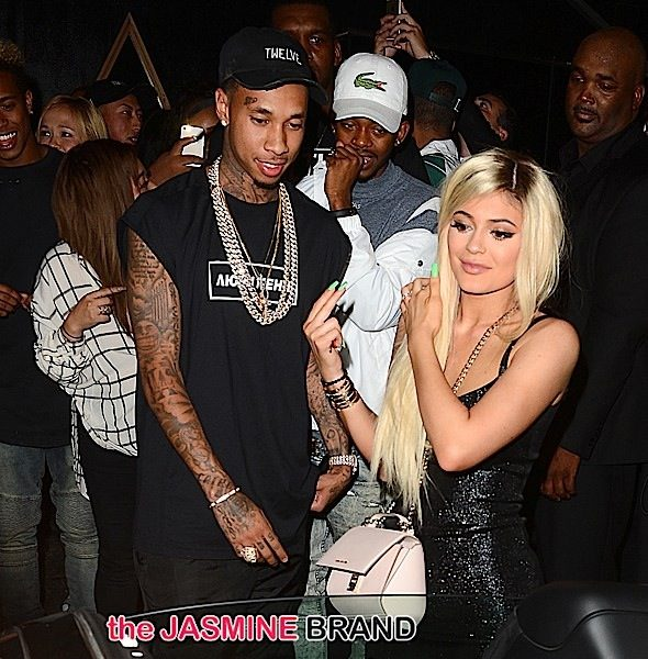 Kylie Jenner Turns 18th With HUGE Bash, Boyfriend Tyga Gifts Her With A $330K Ferrari! [Photos]