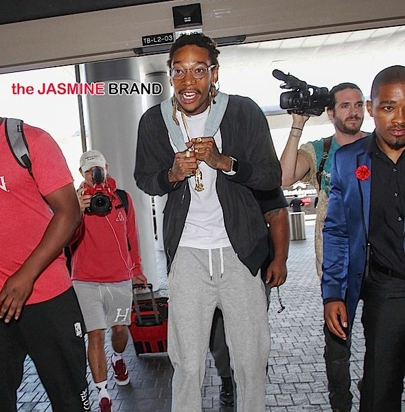 Wiz Khalifa Arrives At LAX [Spotted. Stalked. Scene.]