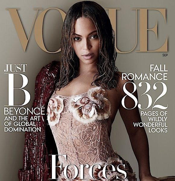 Beyoncé's VOGUE Cover Makes History! [Photos]