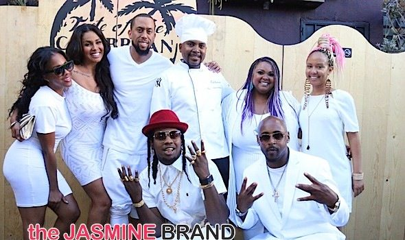 Trinidad James, Affion Crockett, Somaya Reece & More Spotted at  'A Taste of The Caribbean LA' [Photos]