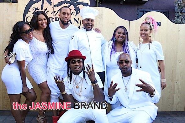 Trinidad James, Affion Crockett, Somaya Reece & More Spotted at  'A Taste of The Caribbean LA' [Photos]