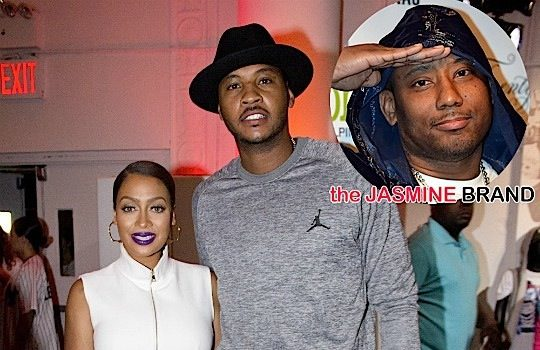 Lala Anthony (Sorta) Responds To Rumors She's Cheating on Carmelo Anthony [VIDEO]