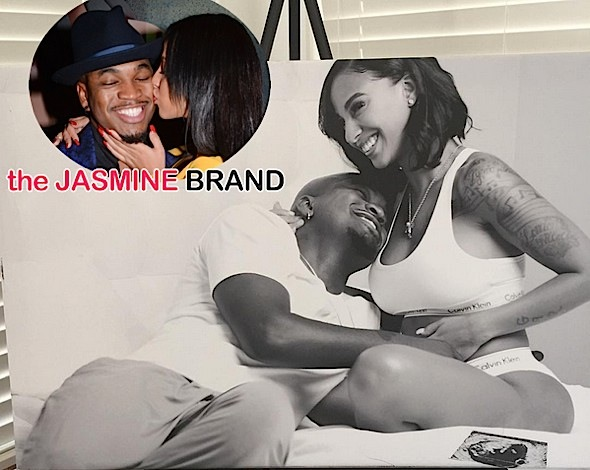 neyo-crystal renay-announce pregnancy-wedding-the jasmine brand