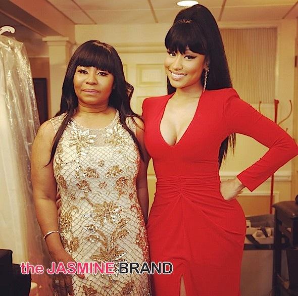 Family Affair! Nicki Minaj Attends Brother's Wedding [Photos]