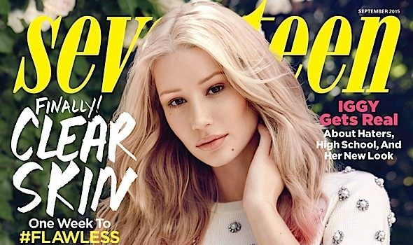 Iggy Azalea Admits She Went Under the Knife: Denying it is lame.