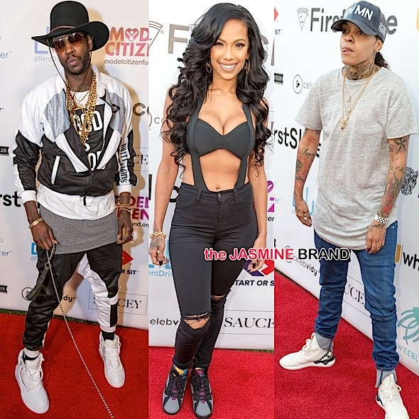 2 Chainz, Nick Cannon, Tyga, Too Short, Erica Mena Attend World's Largest Pizza Festival [Photos]