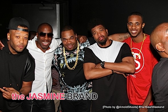 Tadoe, JB Smoove, Busta Rhymes, DeRay Davis and T'ziah Wood-Smith