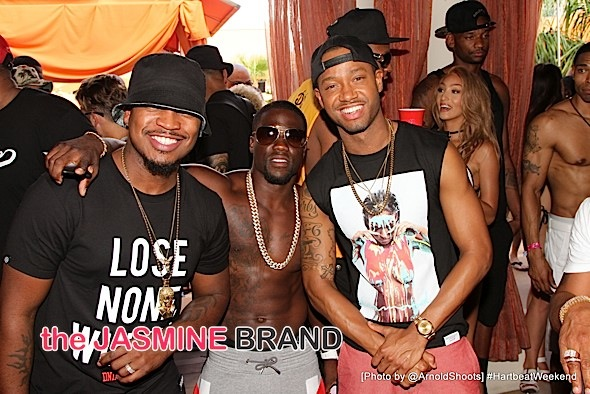 Ne-Yo, Kevin Hart and Terrence J