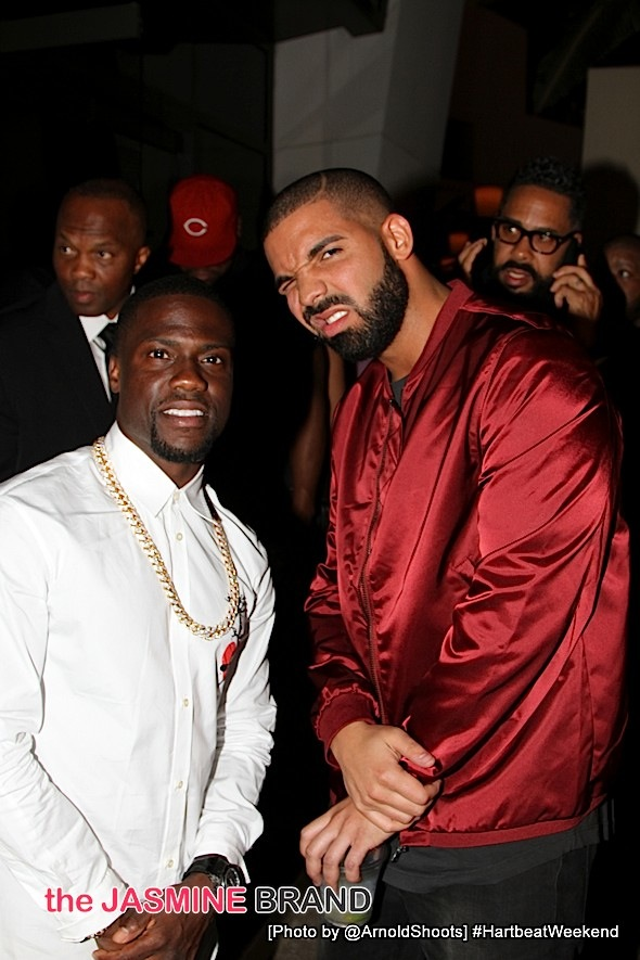 Kevin Hart and Drake