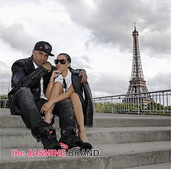 Adrienne Bailon-Lenny Santiago Split-the jasmine brand