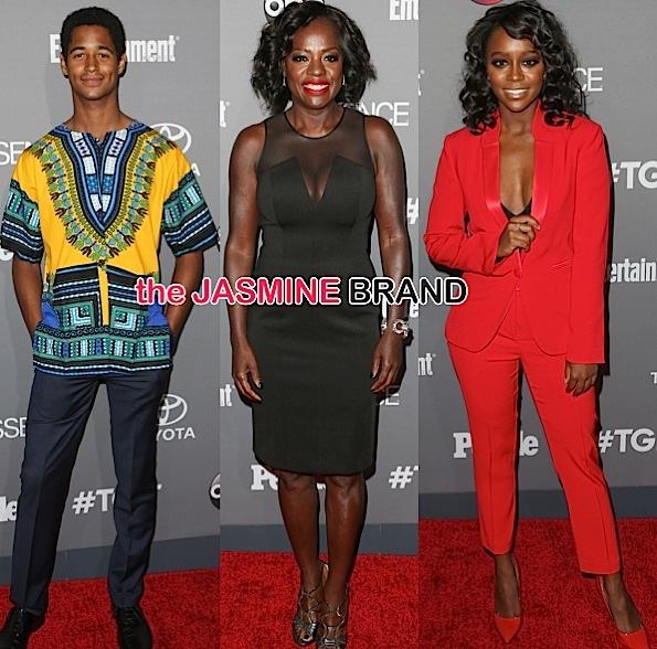 Viola Davis, Aja Naomi King, Alfred Enoch, Chandra Wilson Celebrate Shonda Rhimes TGIT Premiere [Photos]