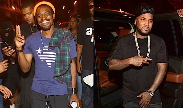 Jeezy Celebrates 'God' Single With Andre 3000 & DJ Drama [Photos]