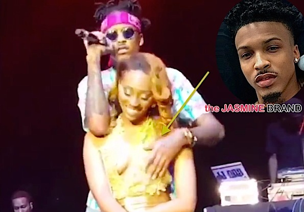 August Alsina Responds to Backlash After Groping Woman On Stage [VIDEO]