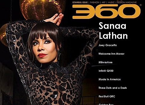 Sanaa Lathan For 360 Magazine [Photos]