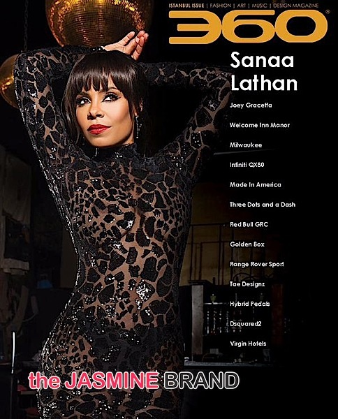 Sanaa Lathan For 360 Magazine [Photos]