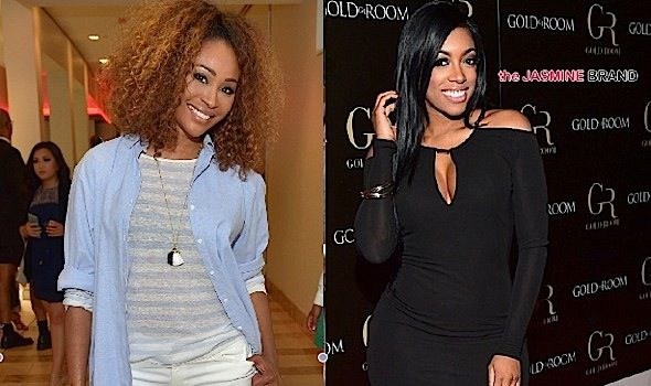 RHOA's Porsha Williams (Sorta) Addresses Fight With Cynthia Bailey [VIDEO]