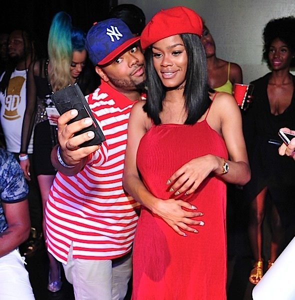 A Newly Pregnant Teyana Taylor Pops-Up At ATL's Frieght Depot + Fetty Wap, Zonnique Spotted [Photos]