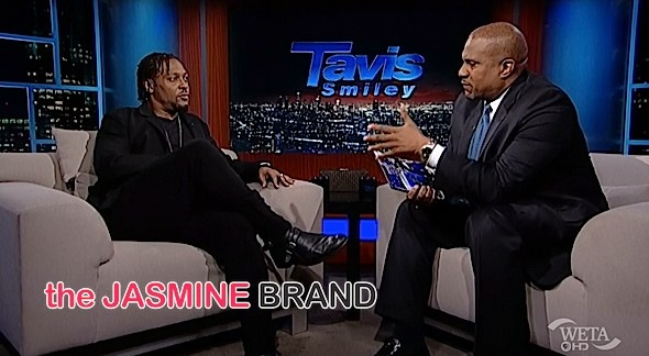 Dangelo Tavis Smiley Show-the jasmine brand