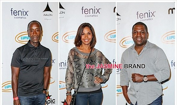 Mekhi Phifer, Don Cheadle, Salli Richardson Attend Lupus Celebrity Poker Tournament [Photos]