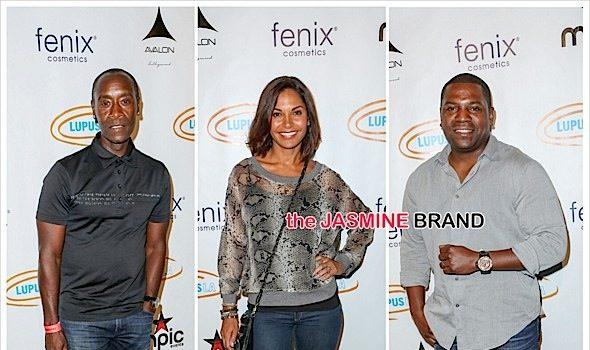 Mekhi Phifer, Don Cheadle, Salli Richardson Attend Lupus Celebrity Poker Tournament [Photos]