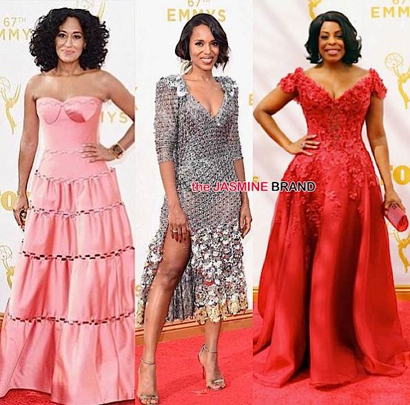 Tracee Ellis Ross, Kerry Washington, Niecy Nash
